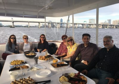 NASHC members on boat-Jax spring 2018